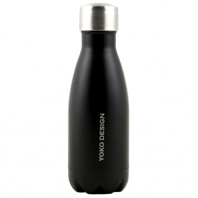 Bouteille Isotherme inox 260 ml noir mat