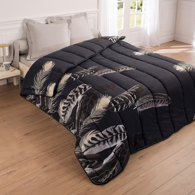 couette microfibre imprim e plumes 200g m2 blancheporte. Black Bedroom Furniture Sets. Home Design Ideas