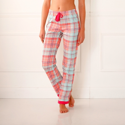 Pantalon pyjama imprim carreaux blancheporte for Pyjama carreaux