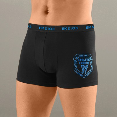 Boxer homme tattoo écusson Eksios® - lot de 4