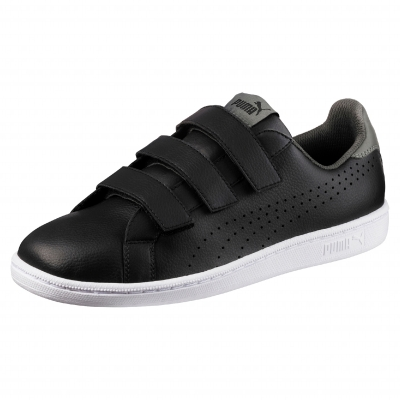 Baskets Smash velcro puma® noir