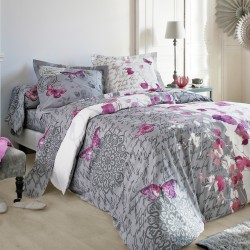 parures de lit linge de lit draps housses de couette blancheporte. Black Bedroom Furniture Sets. Home Design Ideas